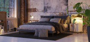 Wie kann man die Bettdecke dekorativ in Szene setzen?