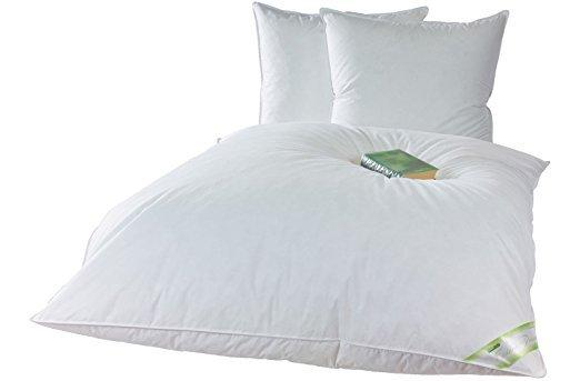 100 /%... 4,5 Tog Homescapes Bettdecke mit Gänsefedern und Gänsedaunen