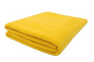 Gelbe Bettdecken