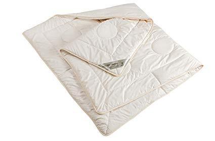 moebelfrank Bettdecke 4 Jahreszeiten Schurwolle