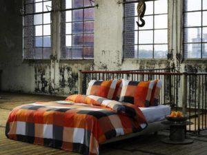 Orange Bettdecken
