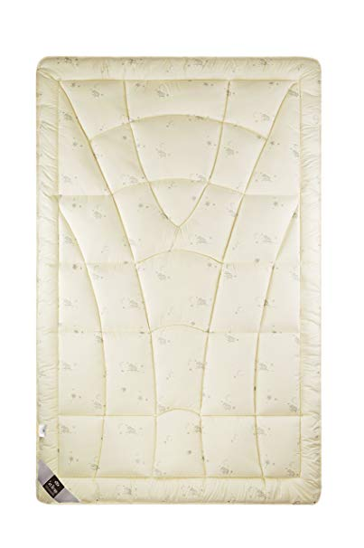 sei design Wolle Bettdecke Wool Comfort