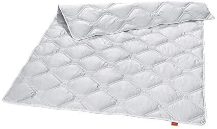 sleepling 194460 Nature 100% Cashmere Luxus Steppdecke Mono medium