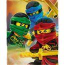 Lego Ninjago Fleecedecke