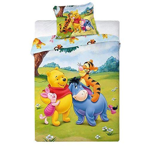 2 tlg Kinderbettwäsche Disney 1017 Winnie The Pooh