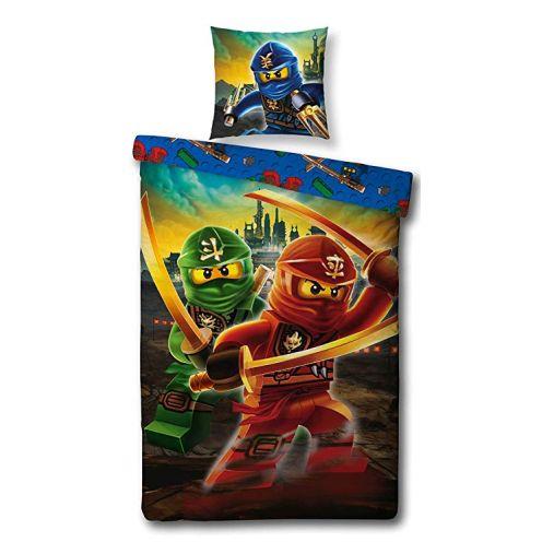 Character World Kinder Bettwäsche Set Lego Ninjago