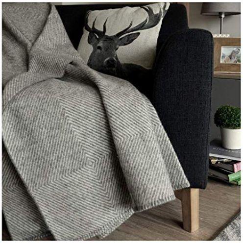 Linen & Cotton Luxus Flauschige, Anschmiegsame und Warme Decke