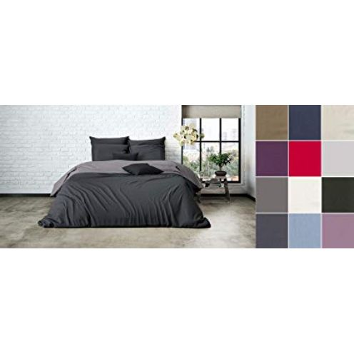 Mistral Uni Einfarbig Wende Bettwäsche