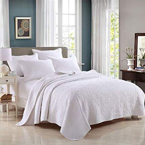 Unimall 3 teilige Bettüberwurf