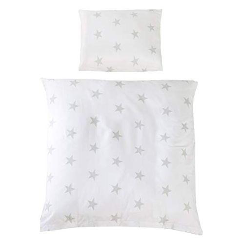 roba Wiegenbettwäsche 2-tlg, Wiegenset Kollektion 'Little Stars'