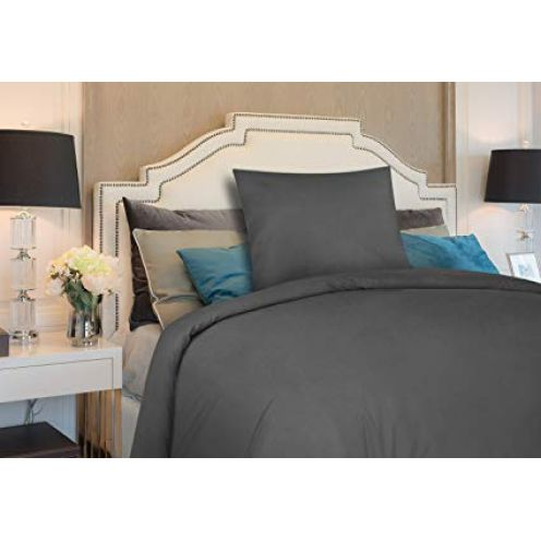 Utopia Bedding Bettwäsche-Set (grau)
