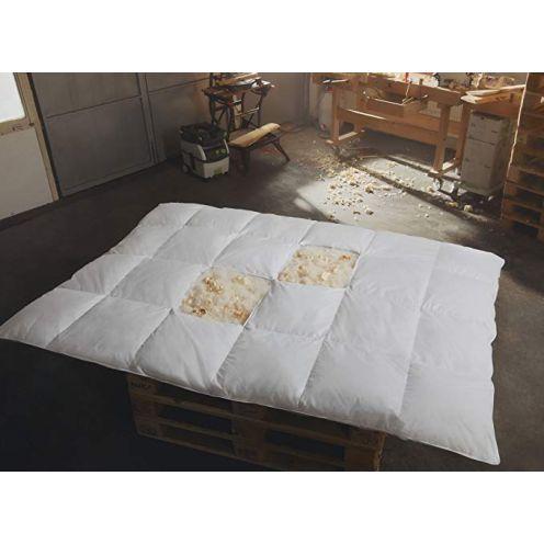 Hermetic Zirben-Daunen Bettdecke